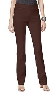 INC International Concepts 女式曲线套穿直筒裤,法国烘烤,0