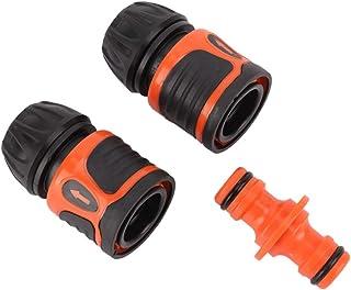 3 个软管连接器,快速连接花园软管配件水管适配器适用于园艺工具