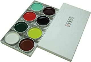 上羽 日本画用绘画具 上羽 铁盆 并品 8种颜色