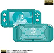 Hori 硬质保护壳 适用于任天堂 Switch Lite 透明×绿松石 任天堂许可商品