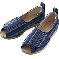 步骤鞋和式的足围3E双脚[设施・院内用]护理鞋 3L(25.0~25.5cm)