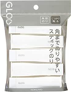 KOKUYO 国誉 胶棒 GLOO 牢固粘贴 S 5个装 G301-5P