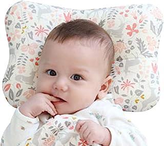 婴儿枕头 新生儿透气 3D 透气网眼*棉,保护平头* Bambi 粉色