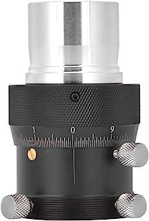 ANGGREK 望远镜对焦器 YZ-18839 铝合金 10 毫米对焦冲程 1.25 英寸螺旋微调 0.05 毫米高精度 1.25 英寸精细调节座椅