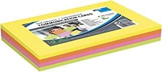 通信卡,4 张卡片,每张 50 张,一包,4 种不同颜色,FSC 认证的纸张,200 x 150 毫米