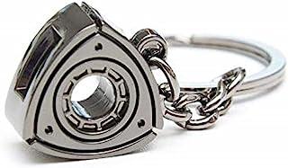 Gunmetal 旋转马自达 RX7 RX8 钥匙链汽车零件汽车礼品钥匙链环