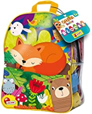 Lisciani Carotina 婴儿积木带背包,24 件-79902