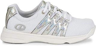 Dexter 女式 Kathy 保龄球鞋 - 白色/银色
