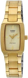CASIO 卡西欧 #LTP1165N-9 女士手表 金属时尚金色调休闲模拟手表