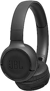 JBL Tune 500BT 强大低音无线包耳式耳机,带有麦克风(黑色)