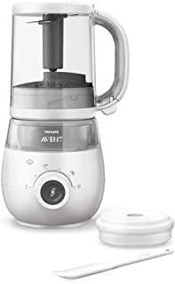 Philips Avent 飞利浦新安怡 4 合 1 *婴儿食品机 适用于断奶阶段 - 蒸、混合、除霜和再加热 - SCF883/02