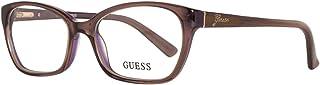 Guess 盖尔斯 女士眼镜 GU2466 52D96 眼镜架,紫色,52