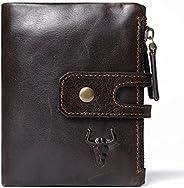 Rfid 保护牛皮信用卡钱包旅行包带拉链钥匙收纳袋