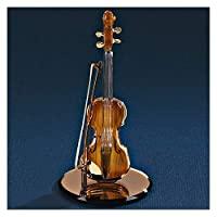 玻璃酒吧金色小提琴雕像