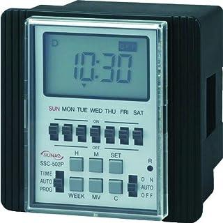 Sunaodenki) 日历计时器(数字式) SSC502P