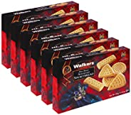 Walkers 短面包饼干,8.8 盎司(约 249.5 克)盒装(6 件装)