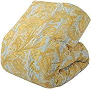 东京西川 羽绒被 单人 乌克兰白鸭绒 85% 日本制造 轻质面料 KA08353508 蓝色 シングル KA08353508B