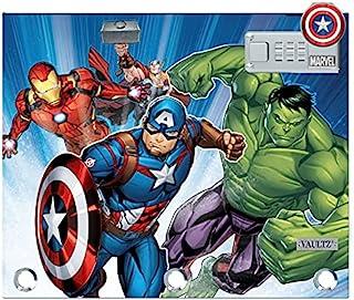 Vaultz 锁定活页夹袋,8 英寸 x 10 英寸 Avengers