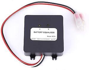 电池均衡器适用于 2x12V 组件电池,连接系列电池系统,可堆叠 24V 36V 48V 电池电压平衡器,延长电池寿命,铅酸 AGM 凝胶泛电池等。