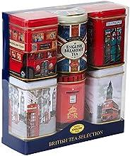 New English Teas British Mini Tin Tea Selection 280 g