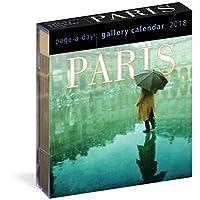 Paris 画廊日历 2018【6.25 x 7.25】