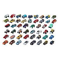 Matchbox 50各种实用车辆的车辆包,适用于3岁及以上的即时收藏