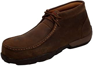 扭曲 X 工作鞋女式钢头驾车软皮鞋 SADDLE wdmst01