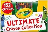 Crayola 绘儿乐 收藏型彩色蜡笔套装,适合送给3岁以上孩子的礼品,152支