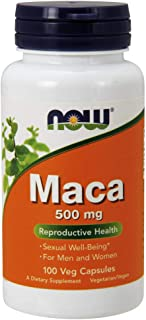 NOW Foods 诺奥 玛卡 500 毫克,100 粒素食胶囊
