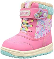 MoonStar 靴子 防水 13~19厘米 女孩 儿童 MFL WPC007