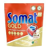 Somat 12 Gold 洗碗机用多效餐具清洁块 强力去除残留/亮泽餐具,年量装/176(8x22)块