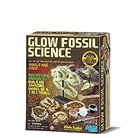 4M 考古探索系列 夜光霸王龙/暴龙考古探索 侏罗纪恐龙 科学探索益智教育玩具 进口