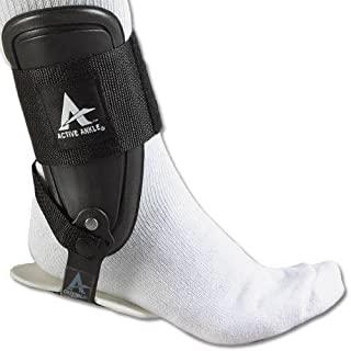 主动脚踝 T2护踝,刚性固定护踝适用于 PROTECTION & sprain 支持 volleyball , cheerleading ,脚踝吊带 TO Wear OVER 压力袜或袖适用于稳定性,各种尺寸 黑色 小号