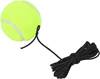 Fabater with 4M 橡胶绳网球单次练习,坚固网球训练球,适合室内和室外初学者