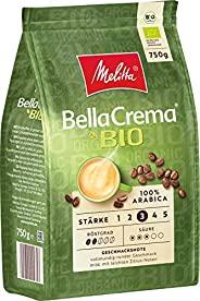 Melitta 全咖啡豆,100% 有机和阿拉比卡,柔软平衡的身体,力量 3,Bellacrema 有机,1 包(1 x 750 克)