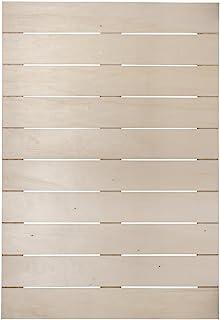 Rayher 62617000 木条框,FSC Mix Credit,50 x 71.5 x 0.7厘米,深1.1厘米,带2个挂钩