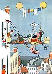 W. Heath Robinson 折叠花园 1000 片装儿童*拼图 — 中部拼图