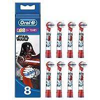 Oral-B 歐樂B 兒童電動牙刷替換刷頭 星球大戰圖案,8件裝,信封包裝