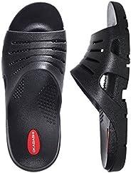 OKABASHI 男式 eurosport 人体工程学防水凉鞋鞋(蓝色 DENIM ,9–10)