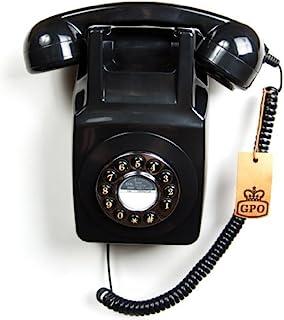 GPO 746 按钮复古 Phone_pGPO746WM Black 黑色