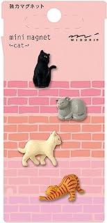 Midori 迷你磁铁,猫 (49754006)