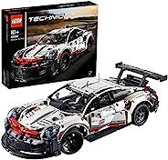LEGO 乐高 机械组 Porsche 911 RSR赛车 42096 益智玩具 积木玩具 男孩 车