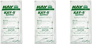 Kay 5 *器/清洁剂 适用于苏打喷泉机 可口可乐 兔子 Granita 清洁剂(3 件装)