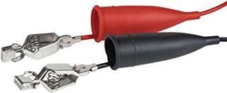 Klein Tools 69420 测试导线,带鳄鱼夹的重型计铅,适用于所有使用香蕉插头计引线的米数
