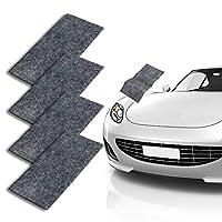 CAMTOA 汽车防刮擦布,纳米魔术修复划痕,多用途汽车清洁漆,表面抛光,水点,锈迹和划痕去除剂