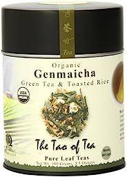 茶道,玄米茶和烤米,散葉,3.5 盎司罐裝