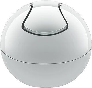 Spirella 垃圾桶 1 升 垃圾桶 摆动式垃圾桶 桌面垃圾桶 碗 白色