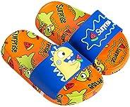 GLOOMALL 儿童恐龙拖鞋防滑夏季沙滩涉水鞋男孩女孩淋浴泳池拖鞋