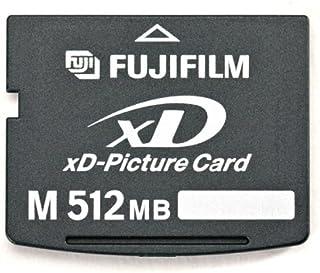 FujiFilm 256 MB xD 图片卡,M 型 (600004661)600002308 512MB 512 Mb