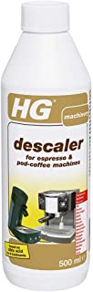 HG 除垢剂,适用于浓缩咖啡和咖啡豆荚机 白色 323050106